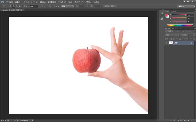 Photoshop 画像を用意する