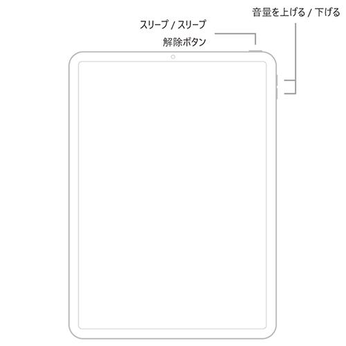 iPad Proのボタン配置