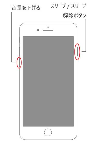 iPhone 7を強制終了する