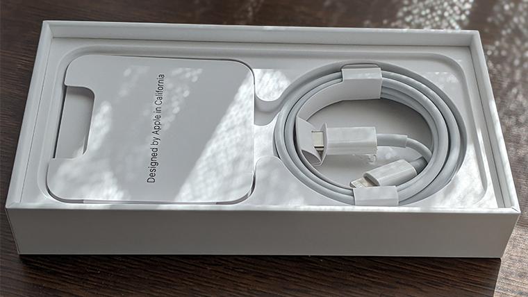 iPhone 12 miniの同梱物